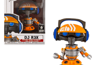 DJ R3X Pop Vinyl Funko shopDisney Star Wars Galaxy's Edge Disneyland Resort