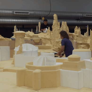 Building the Spires of Star Wars: Galaxy's Edge