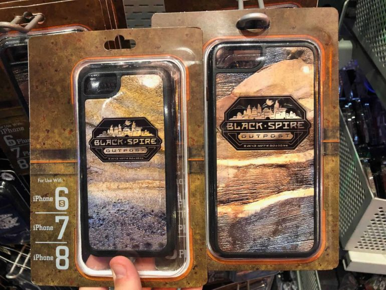 Star Wars Galaxy's Edge Phone Case Black Spire Outpost Logo The Star Trader