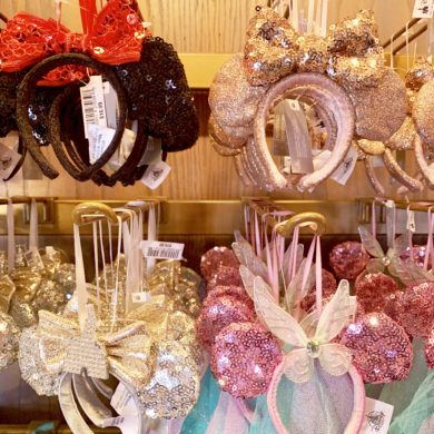 Disney Minnie Ear Headband Ornaments Disneyland Resort