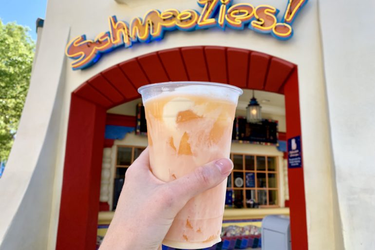 Seasonal Orange Cream Lemonade Schmoozies Disney California Adventure