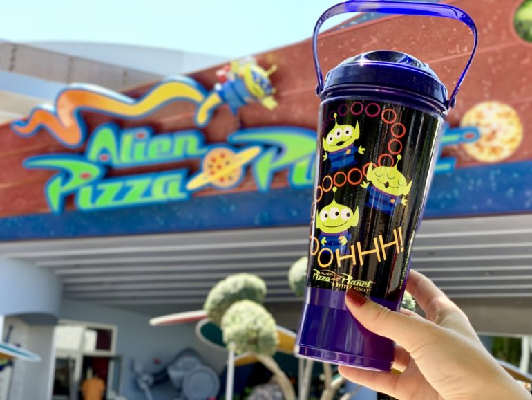 lien Pizza Planet Sipper Disneyland Park