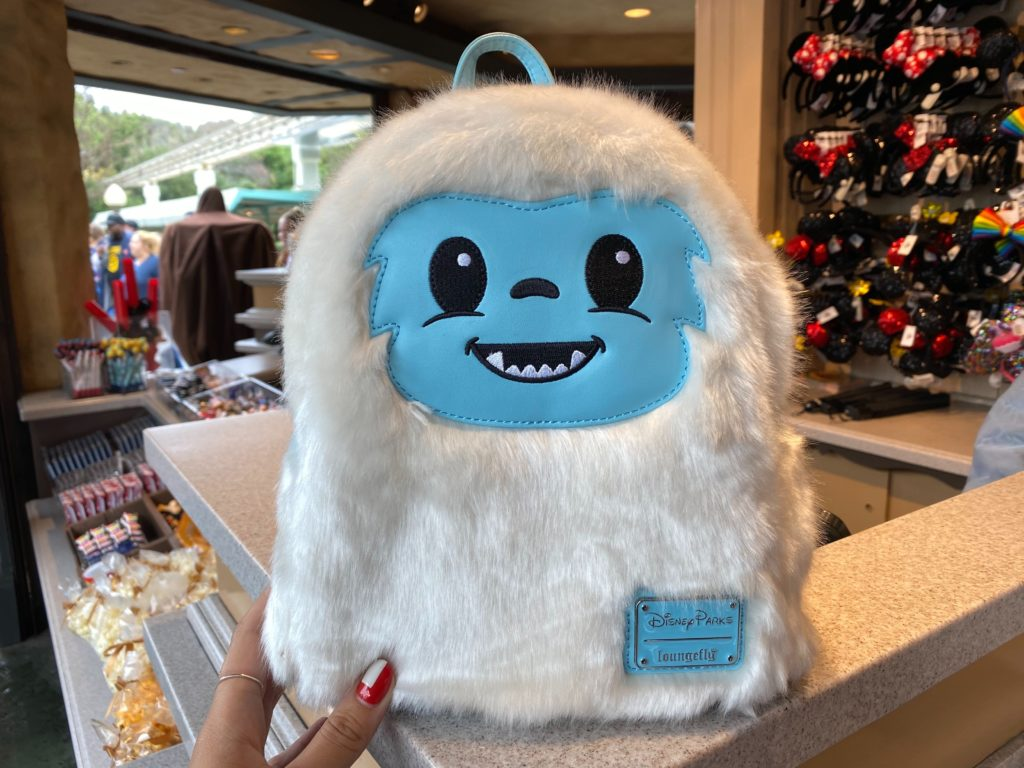 PHOTOS: New Adorable Abominable Snowman Loungefly Backpack